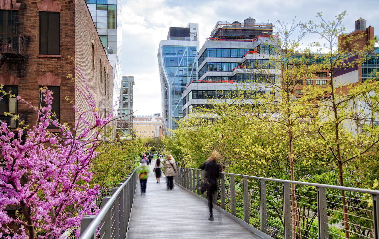 High Line Park New York Reise