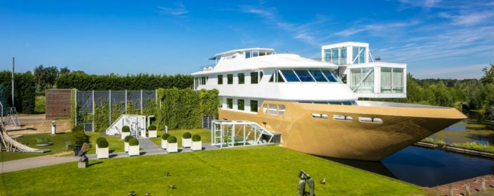 Wellnessboot in Holland