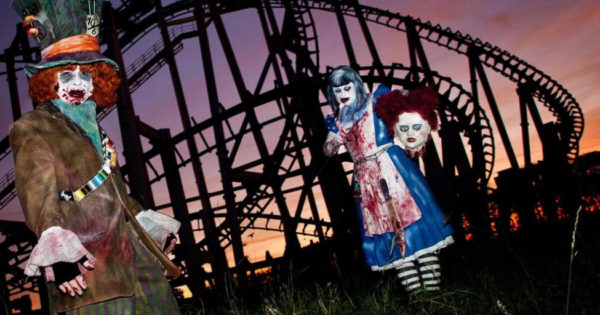 Halloween im Movie Park