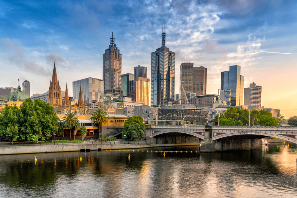 Melbourne Central Business District, Südaustralien