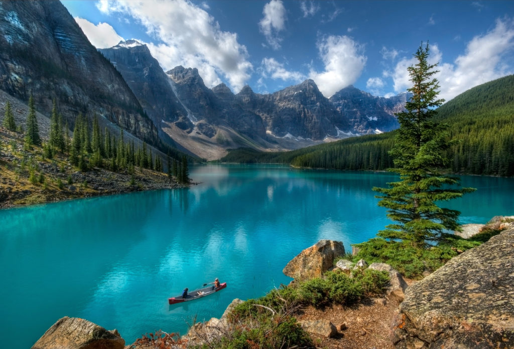 Moraine Lake in Kanada