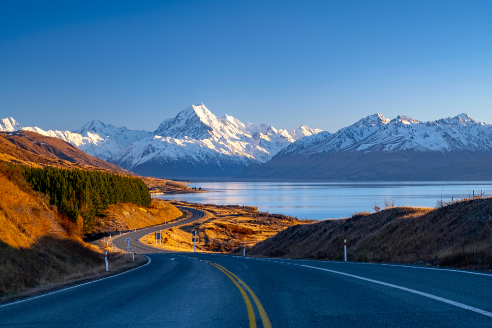 Mount Cook Nationalpark in Neuseeland