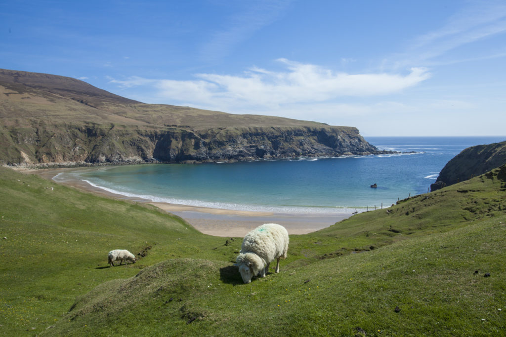 Silver Beach in Donegal, Irland