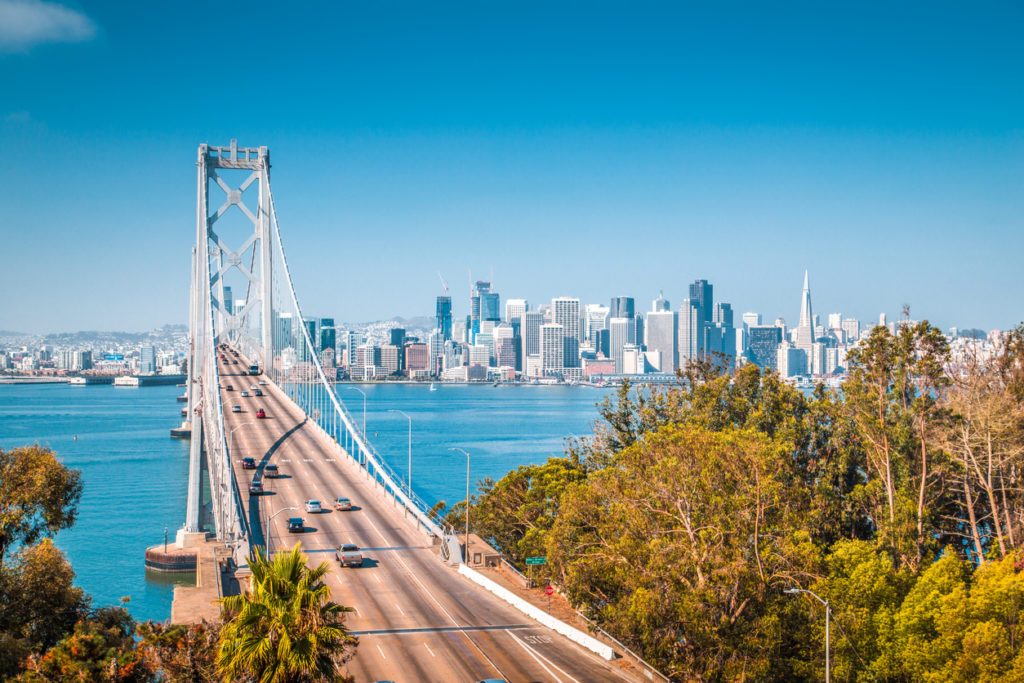 San Francisco in Kalifornien, USA