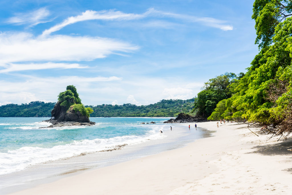 Strand im Manuel Antonio Nationalpark, Costa Rica