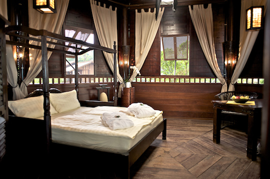 Tropical Islands Abenteuer-Lodge Bali Pavillon
