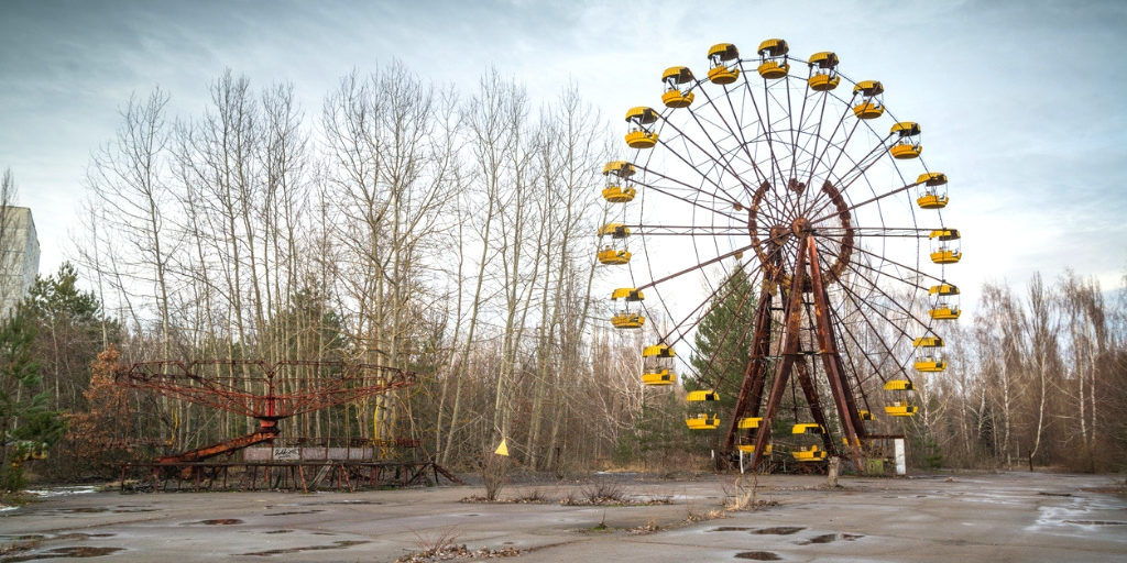 Freizeitpark in Tschernobyl