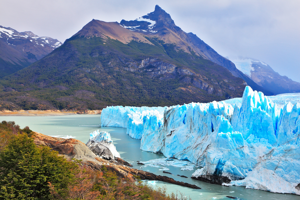 Los Glaciers Nationalpark in Argentinien