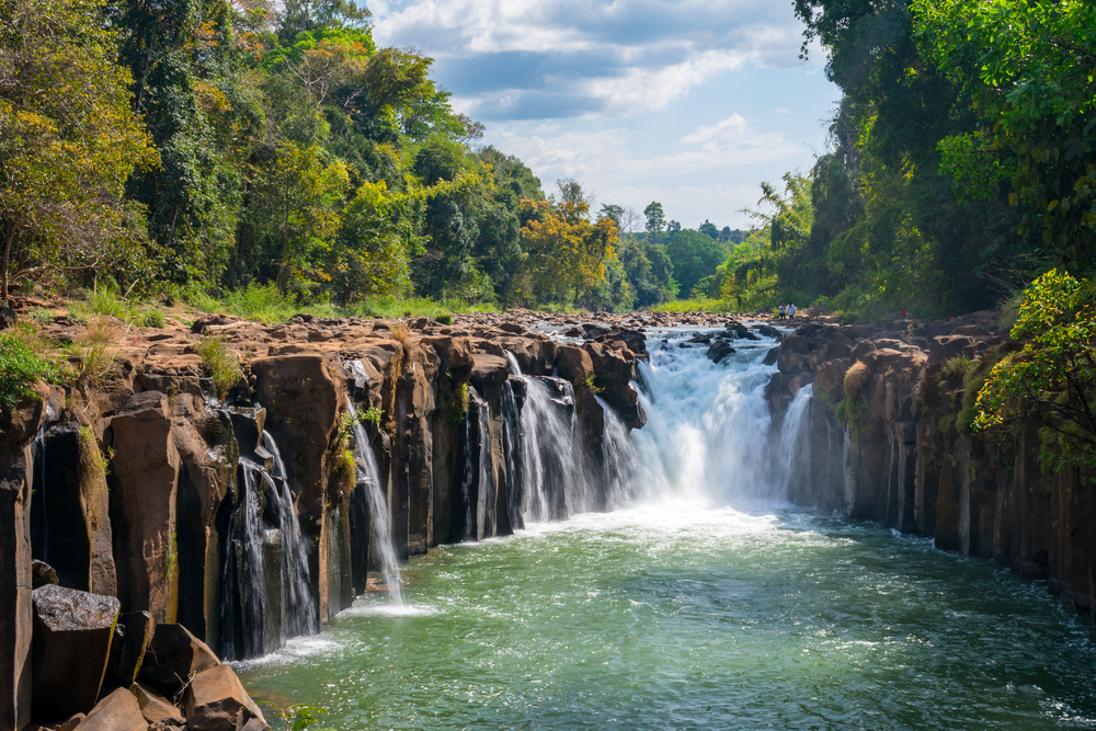 Pha Suam Wasserfall in Laos