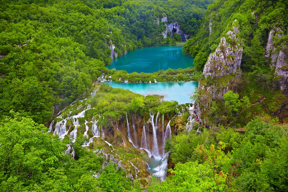 Plitvicer Seen Nationalpark, Kroatien