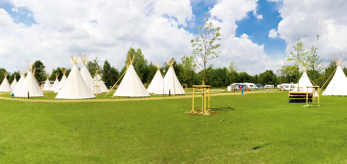 Tropical Islands Tipi-Zelte