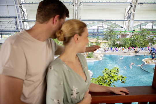 Tropical Islands Juniorsuite Blick