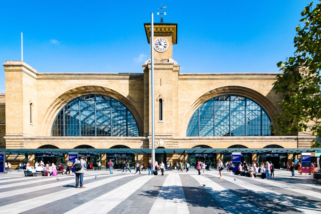 Bahnhof Kings Cross, London
