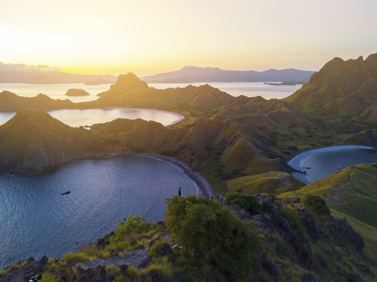 Padar Insel in Indonesien