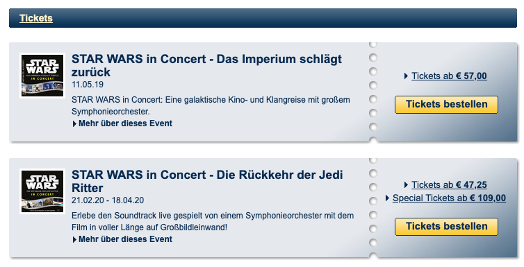 Star Wars™ in Concert