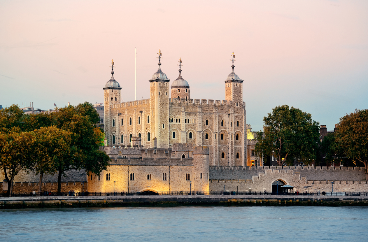 Tower of London an der Themse