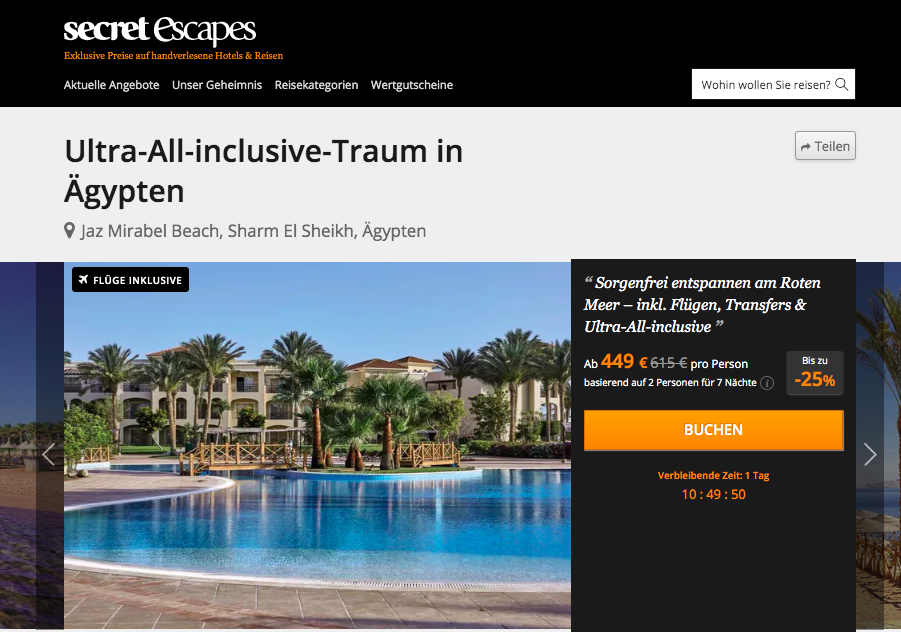 All Inclusive in Sharm el Sheikh