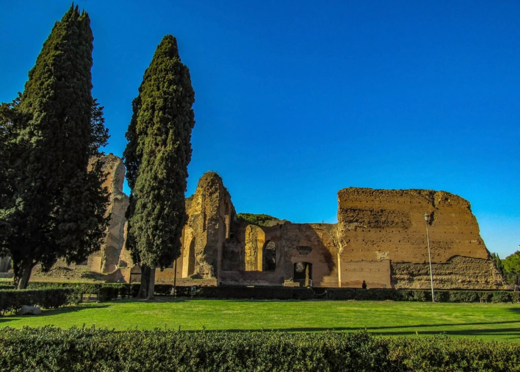 Caracalla Therme von Rom