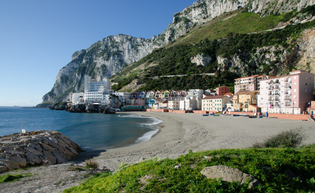Catalan Bay in Gibraltar