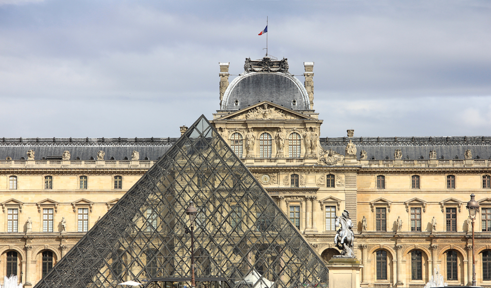 Das Louvre Museum in Paris