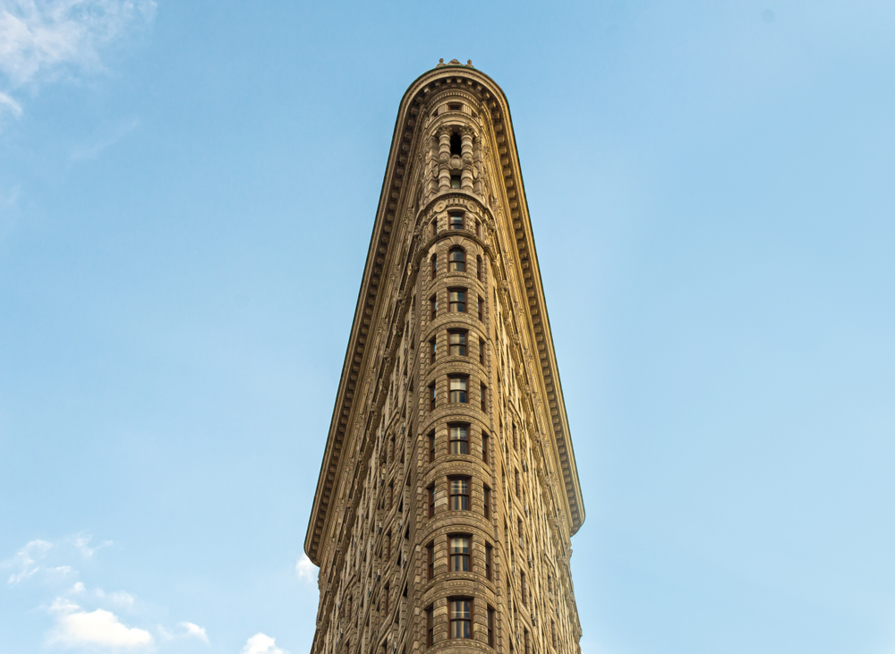 Flatiron Building in New York