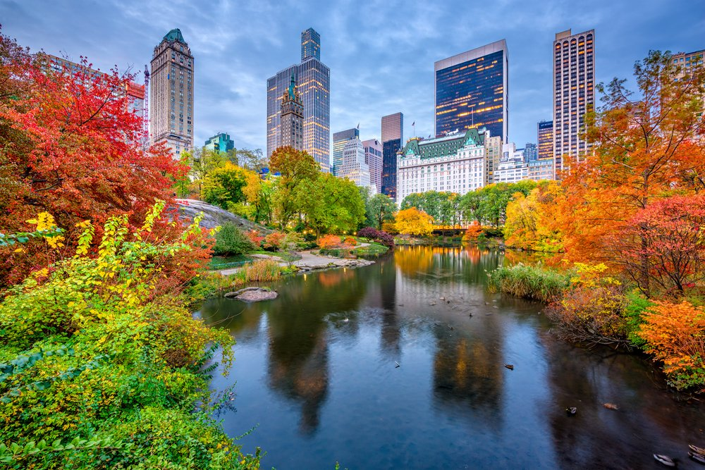 Herbst in New York