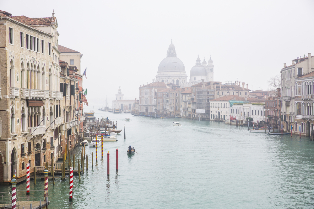 Nebel in Venedig