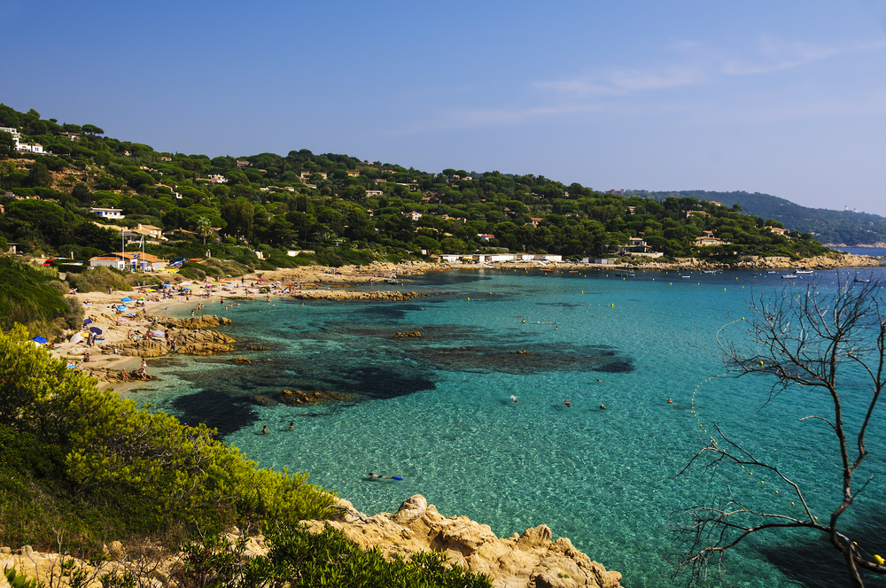 Plage de L'Escalet in Saint Tropez