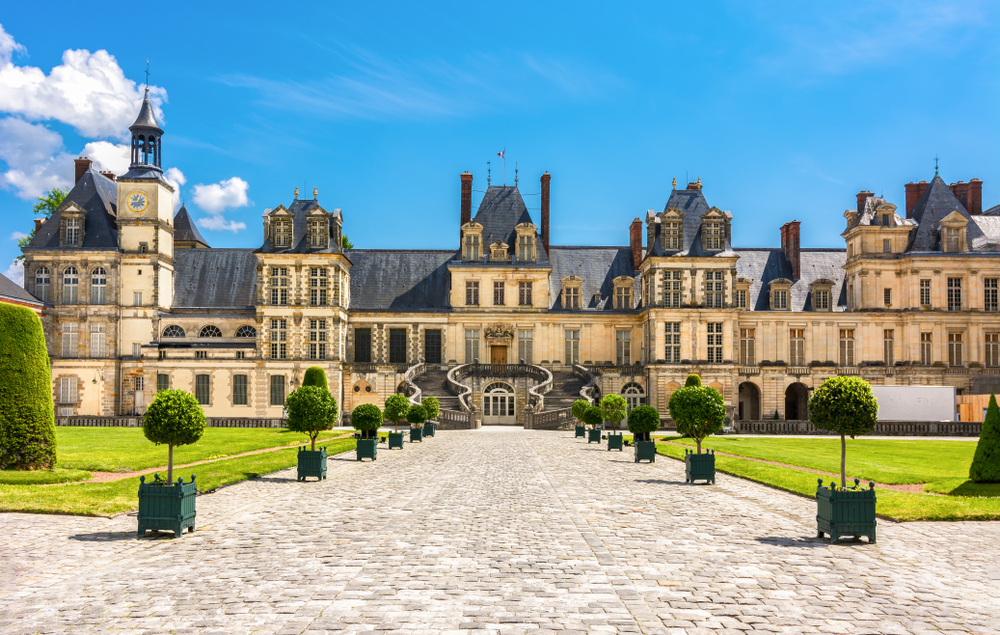 Schloss Fontainebleau in Paris