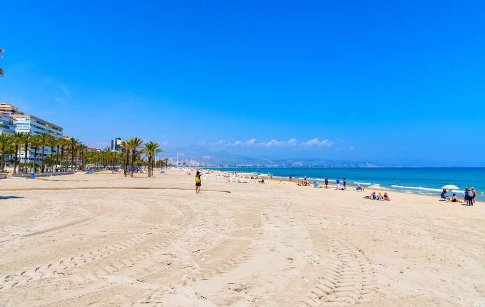 Playa de San Juan in Valencia