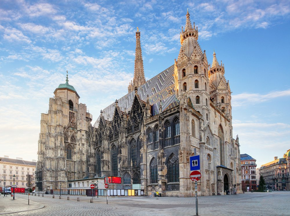 Der Stephansdom in Wien