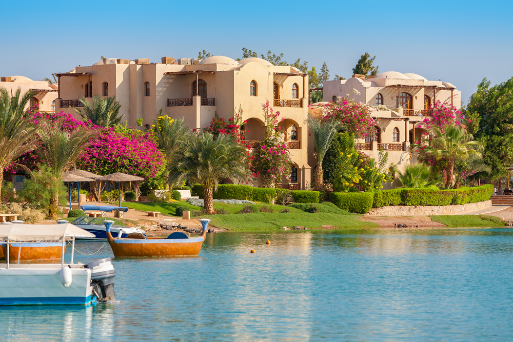 El Gouna resort in Ägypten