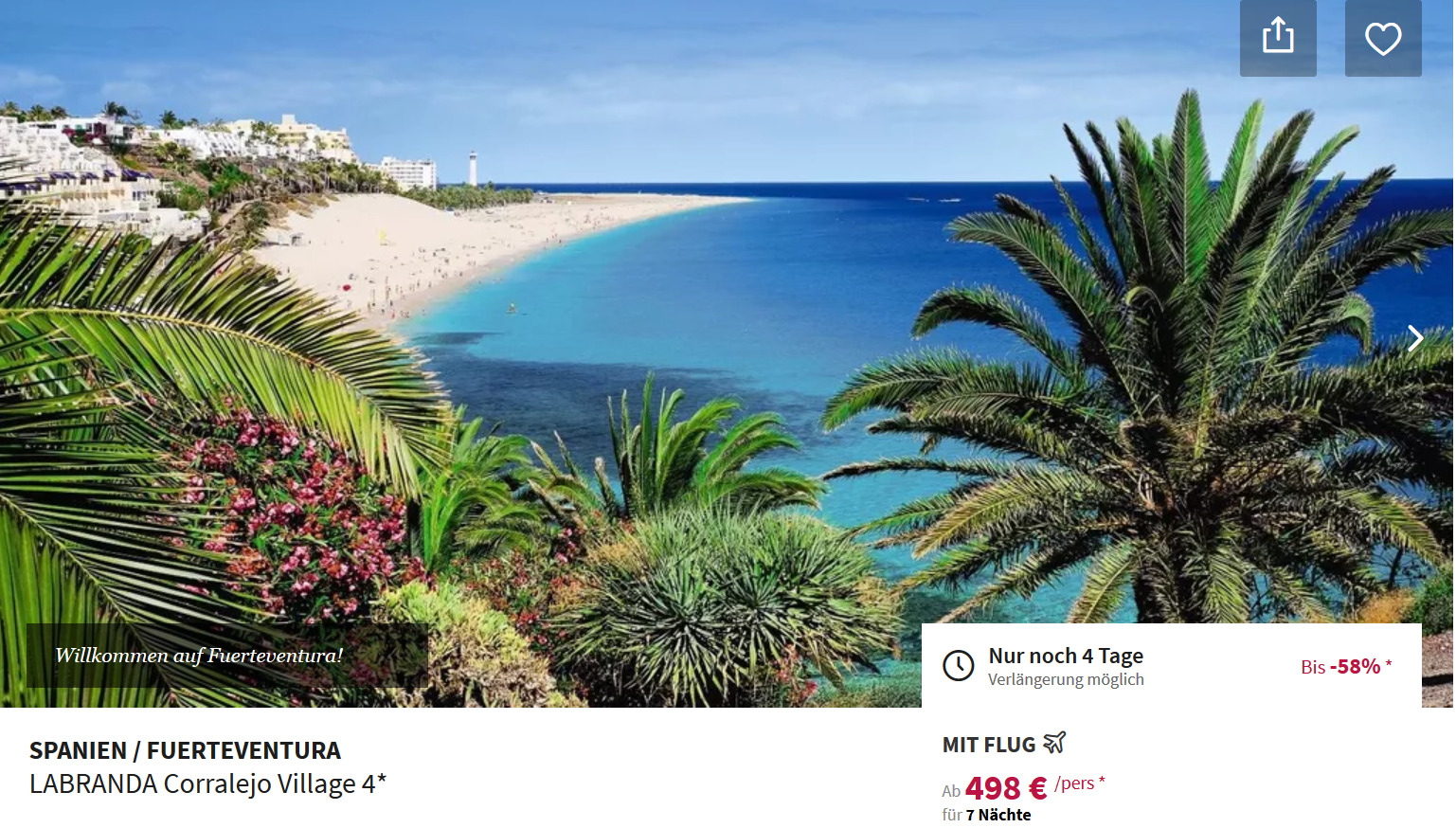 Fuerteventura All Inclusive Urlaub
