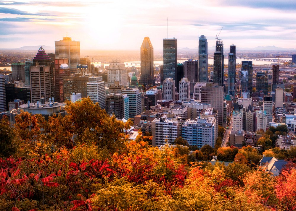 Montreal im Herbst