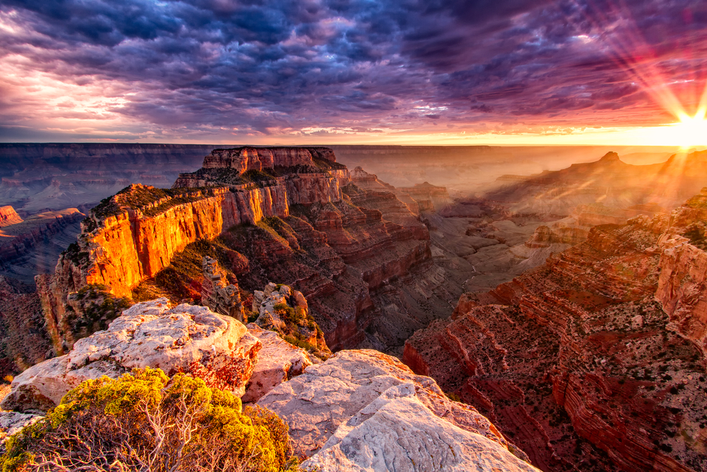 North Rim im Grand Canyon Nationalpark, USA