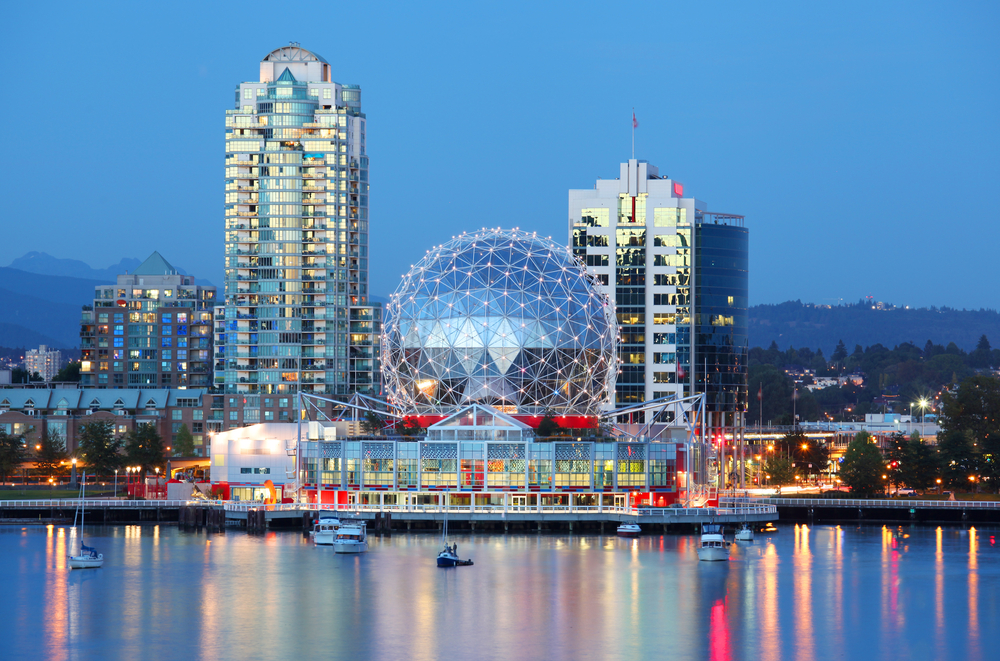 The Science World, Vancouver