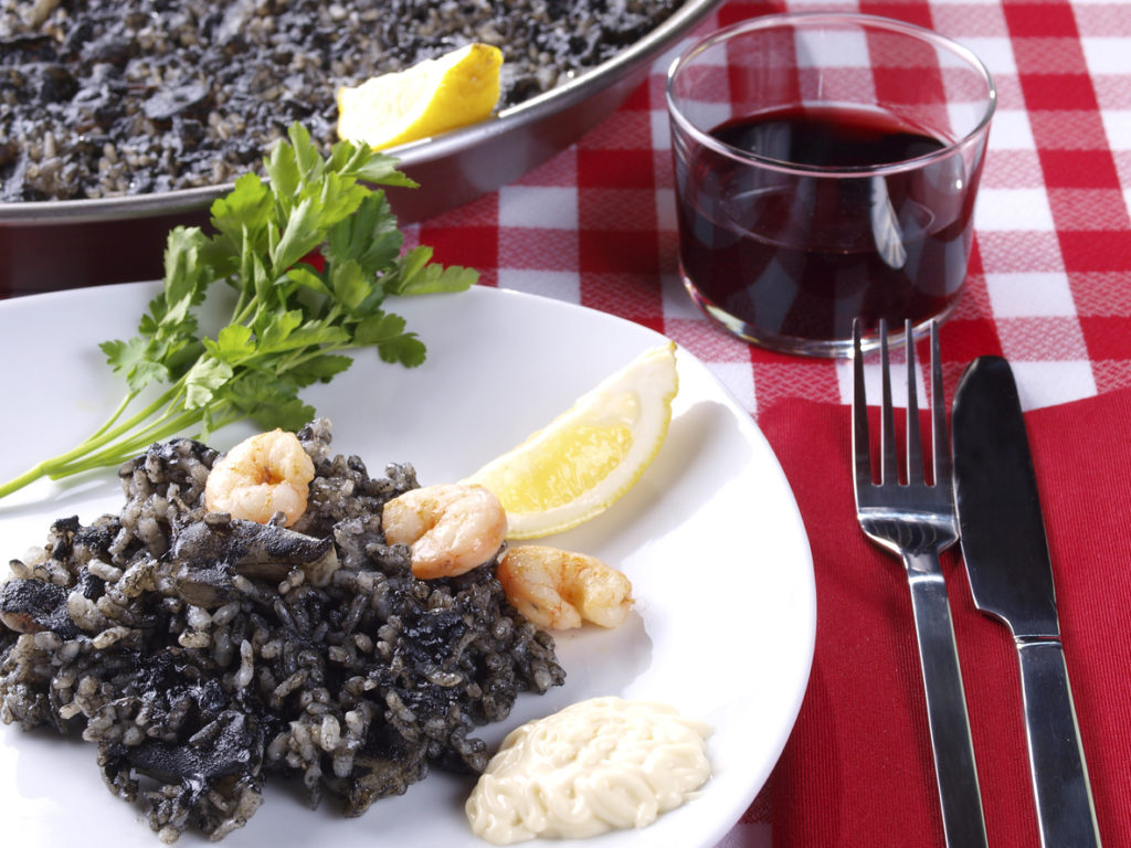 Arroz Negro – Black Rice