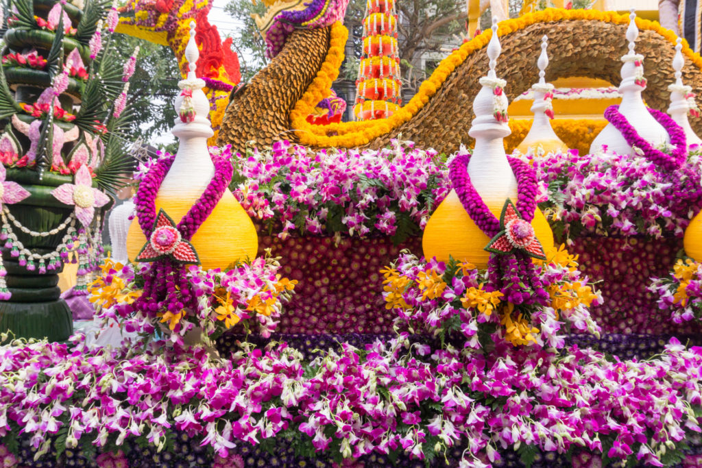 Blumenfest in Chiang Mai