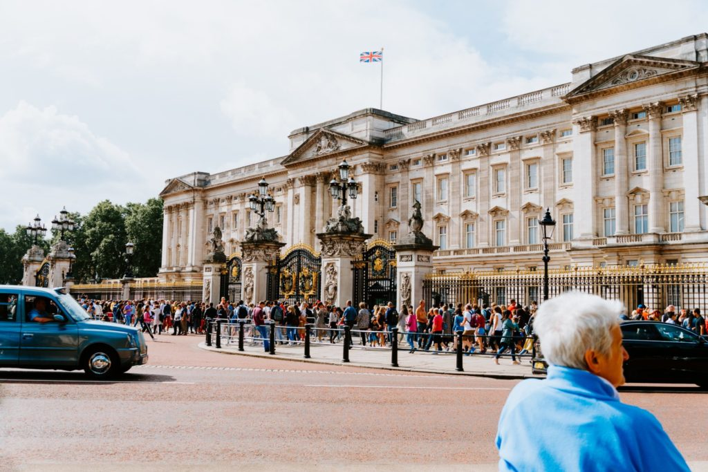 Der Buckingham Palace, London
