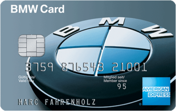american express bmw card