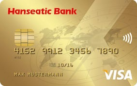 Hanseatic Bank Gold Visa Card