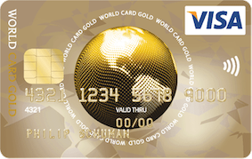 ics visa world card gold