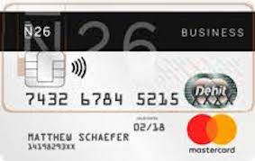 n26 mastercard business