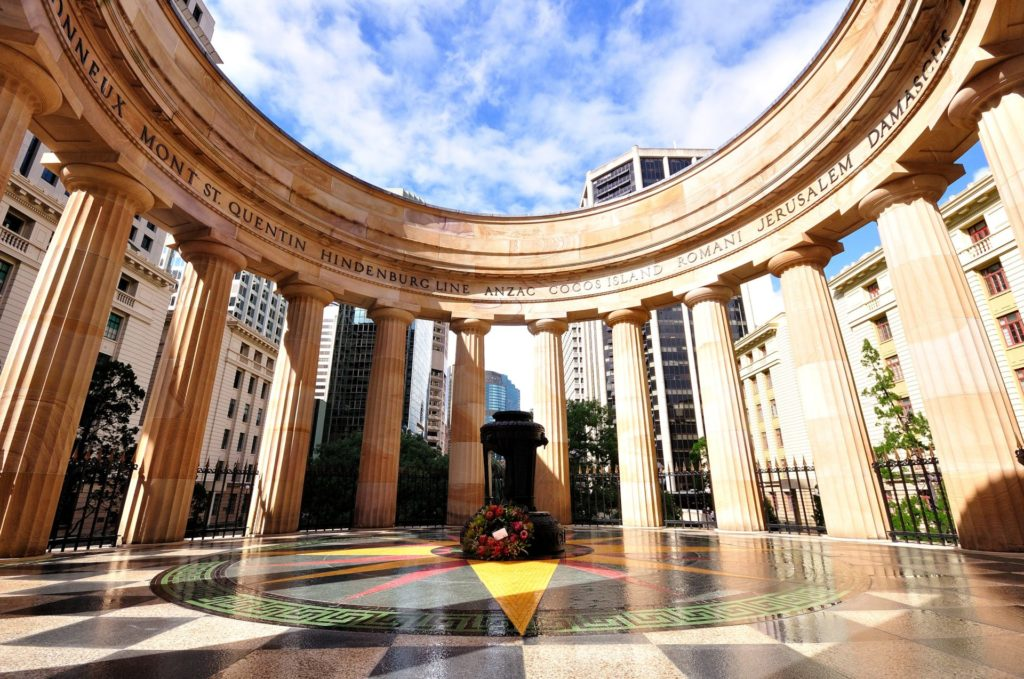 Brisbane, ANZAC Square, Queensland
