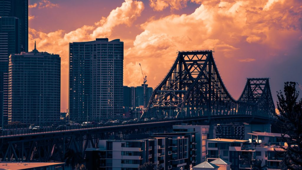 Brisbane, Story Bridge, Australien