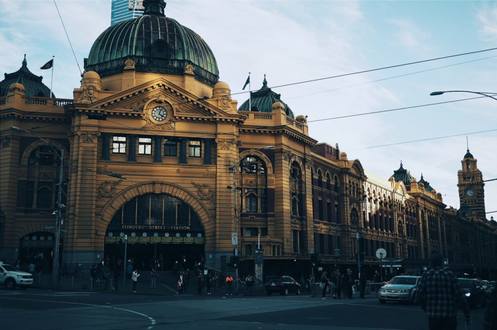 Melbourne, Flinders Street Station