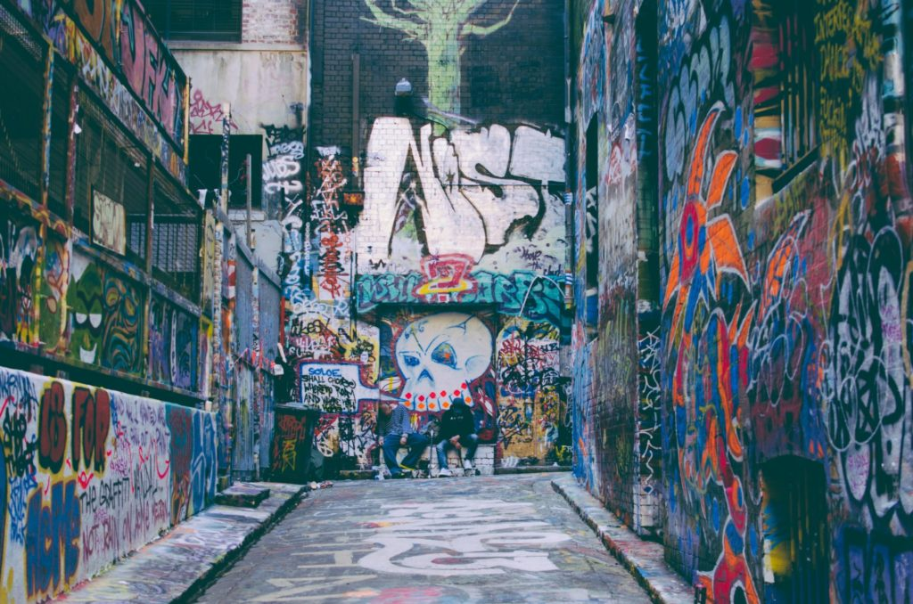 Melbourne, Hosier Lane