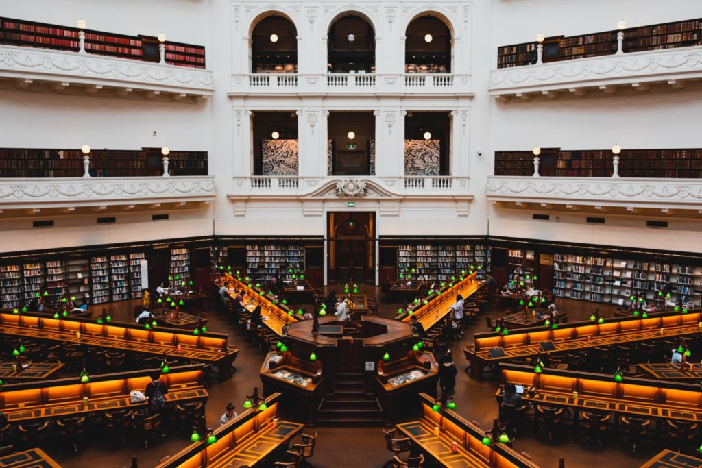 Melbourne, State Library of Victoria