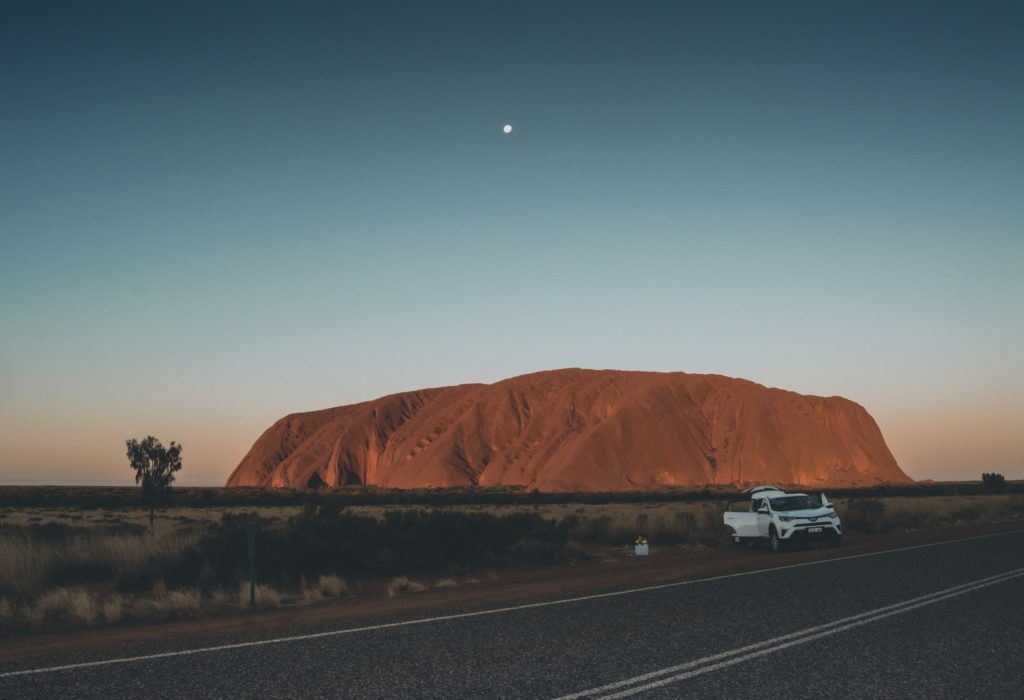 Ayers Rock in Australien