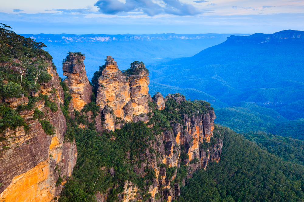 Three Sisters im Blue Mountains Nationalpark, Australien